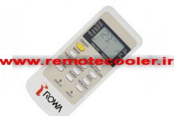 خرید ریموت کنترل کولر گازی اسپیلت رووا ROWA